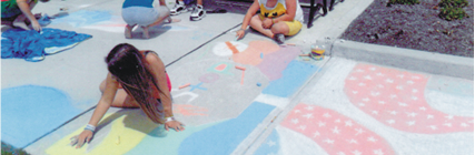 Art & Chalk Walk 2014