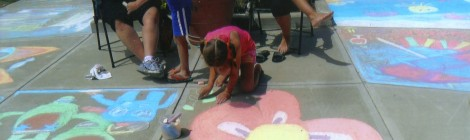 2013 Chalk Walk Pictures